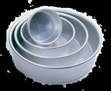 """Tin - Round - 4"""" - 100mm"""