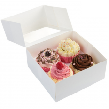 Cup Cake Box -4 - With Insert