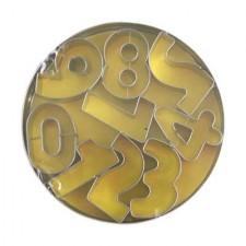 Cutter - 9 Piece Number Set 10Cm - Tin