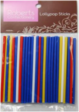 Lollypop Sticks - Coloured