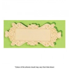 Silicone Mould - Plaque Rectangle