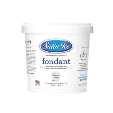 Satin Ice - White/Vanilla Fondant - 1KG
