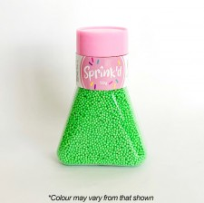 Sprink'd - Sugar Balls - Green - 2mm - 130G