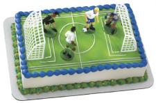Cake Kit - Soccer Boys