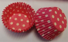 Muffin Cup - 408 Pink Polka Dot (50Pk)