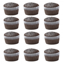 Naked - Chocolate Mud Cupcake - Box 12 - CLICK & COLLECT ARNDELL PARK ONLY