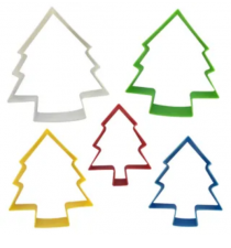 Cutter Set - Christmas Trees Set 5