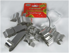 Cutter - Xmas - 9 Piece Set on Ring