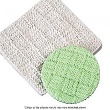 Silicone Mould - Texture Mat - Crochet Weave