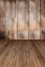 Photo Backdrop - Dark Wood