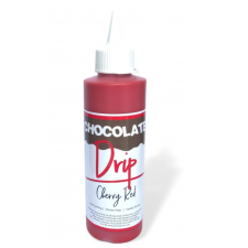 Chocolate Drip - 250G - Cherry Red