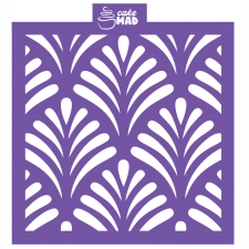 Cake Mad - Cake & Cookie Stencil - Fronds
