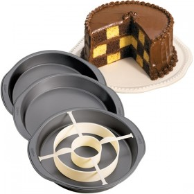 Tin Wilton Checkerboard Pan Set Cake Decorating Solutions
