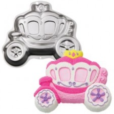 Tin - Princess Carriage Pan
