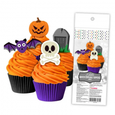 Wafer Paper Cupcake Topper - Halloween