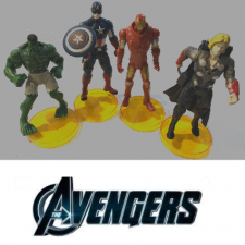 Figurines - Avengers Set 4