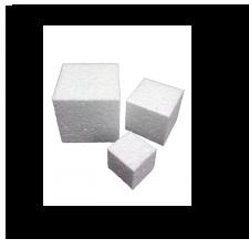 """Foam - Cube - 1""""X1"""""""