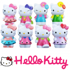 Figurines - Hello Kitty Set of 8