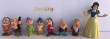 Figurines - Snow White & 7 Dwarves