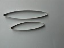 Cutter - Leaf (Set Of 2) Extra Long