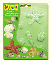 Makins - Push Mould - Sea Shells