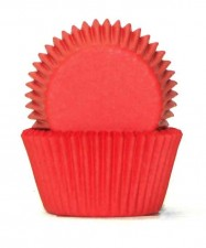 Muffin Cup - 408 - Red (100 Pk)