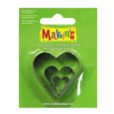 Cutter - Makins - Hearts - Set Of 3