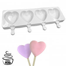 Cake Mad - Heart Popsicle Mould