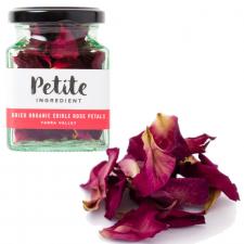 Dried Organic Edible Rose Petals - Red
