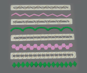 Cutter - FMM - Geometric Edging Set