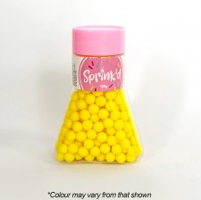 Sprink'd - Sugar Balls - Yellow - 8mm - 100G