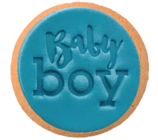 Cake Mad - Cookie Embosser - Baby Boy