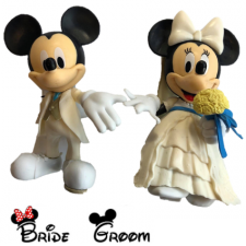 Figurines - Mickey & Minnie Bride & Groom