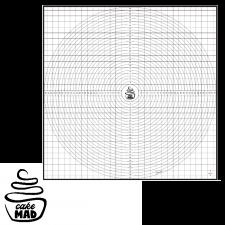 Cake Mad - Non Stick Mat - 50cm x 50cm
