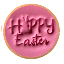 Cake Mad - Cookie Embosser - Easter With Bunny