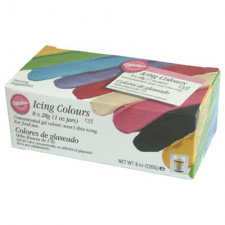 Paste - Wilton 8 Pack Icing Colors