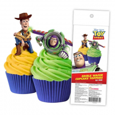 Wafer Paper Cupcake Topper - Toy Story