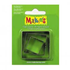 Cutter - Makins - Squares - Set Of 3