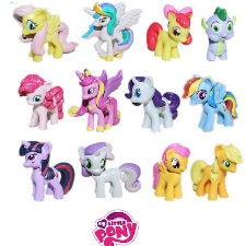 Figurines - My Little Pony Set of 12
