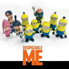 Figurines - Despicable Me / Minions Set 10