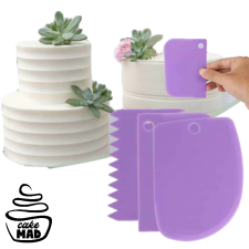 Cake Mad - Icing Scraper Set 3
