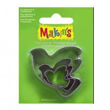 Cutter - Makins - Doves - Set Of 3