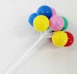 Plastic - Balloons Pick - Small