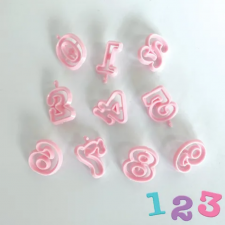 Cutter - Numbers Pink