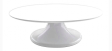 Turntable - Melamine - White