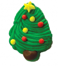 Sugar Decoration - Xmas Tree - Large