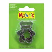 Cutter - Makins - Teddybear - Set Of 3