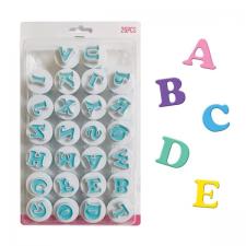 Cutter - Ejector - Mini Alphabet - Upper Case