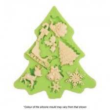 Silicone Mould - Assorted Christmas