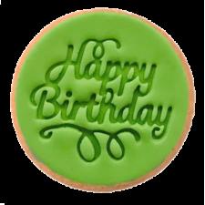 Cake Mad - Cookie Embosser - Happy Birthday #9